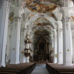 Rokoko Inneres Kirche St Georg in Isny
