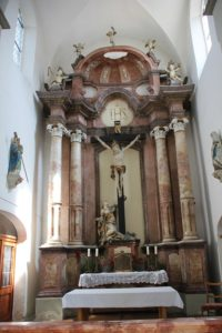 Altar St Georgskapelle Tettnang