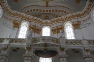 Barocke Figuren und Verzierungen Kloster Wiblingen