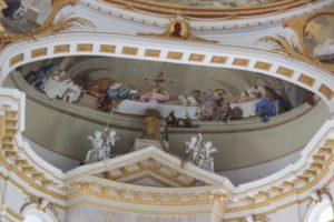 Barocke Malerei Kloster Wiblingen