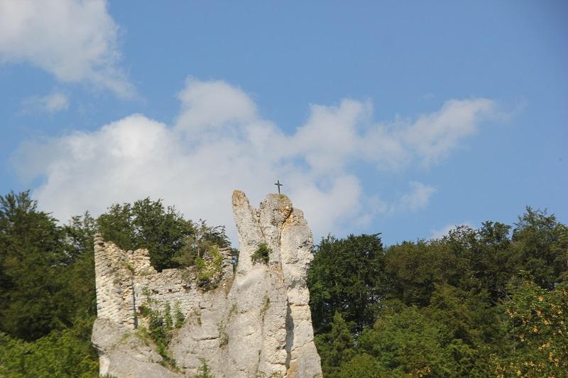Burgruine Neu-Gutenstein Donautal