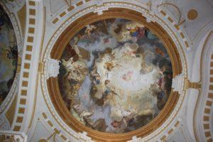 Deckenbild Kloster Wiblingen