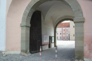 Eingang Kloster Wiblingen