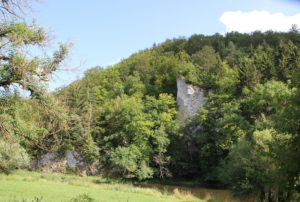Felsen im Donautal
