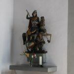 Figur St Georg St Georgskapelle Tettnang