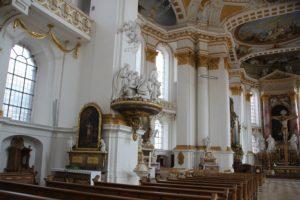 Figuren Basilika Kloster Wiblingen