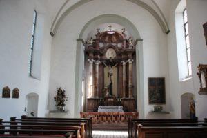 Innenraum St Georgskapelle Tettnang