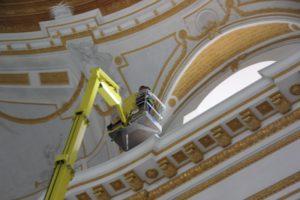 Renovierung der Basilika Kloster Wiblingen