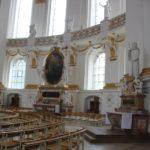 Runder Bauch der Basilika Kloster Wiblingen