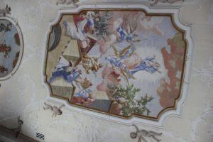Deckenbild St Stephanus Herlazhofen