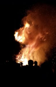 Flammen Funkenfeuer
