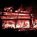 Funken Feuer Ende