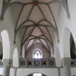 Gotisches Dach Kirche Koenigseggwald