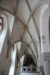 Gotisches Dachgerippe Kirche Koenigseggwald
