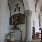 Seitenaltar Kirche St Georg Koenigeggwald