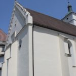 Westportal Kirche St Georg in Koenigeggwald