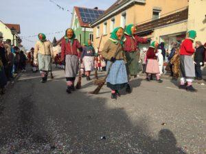 Hexen in Kisslegg beim Umzug 2017
