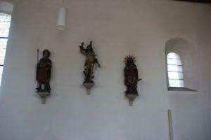 Barocke Figuren Kirche Riedhausen