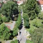 Blick auf Schlosspark Langenargen
