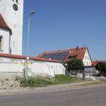 Kirchenmauer Riedhausen