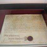 Mittelalterliches Dokument Schwoerhaus Ulm