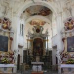 Altar Schlosskirche Insel Mainau