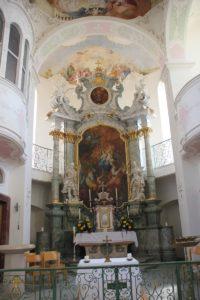 Apsis Kirche Insel Mainau