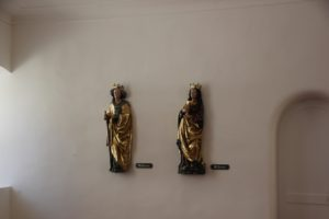 Barocke Figuren Heilig-Geist-Spital Bad Waldsee
