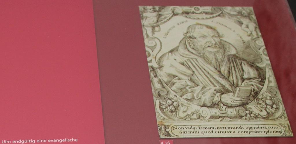 Erster evangelischer Pfarrer Ulm