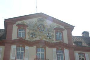 Giebel Emblem Schloss Mainau