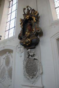 Grab Kirche Insel Mainau