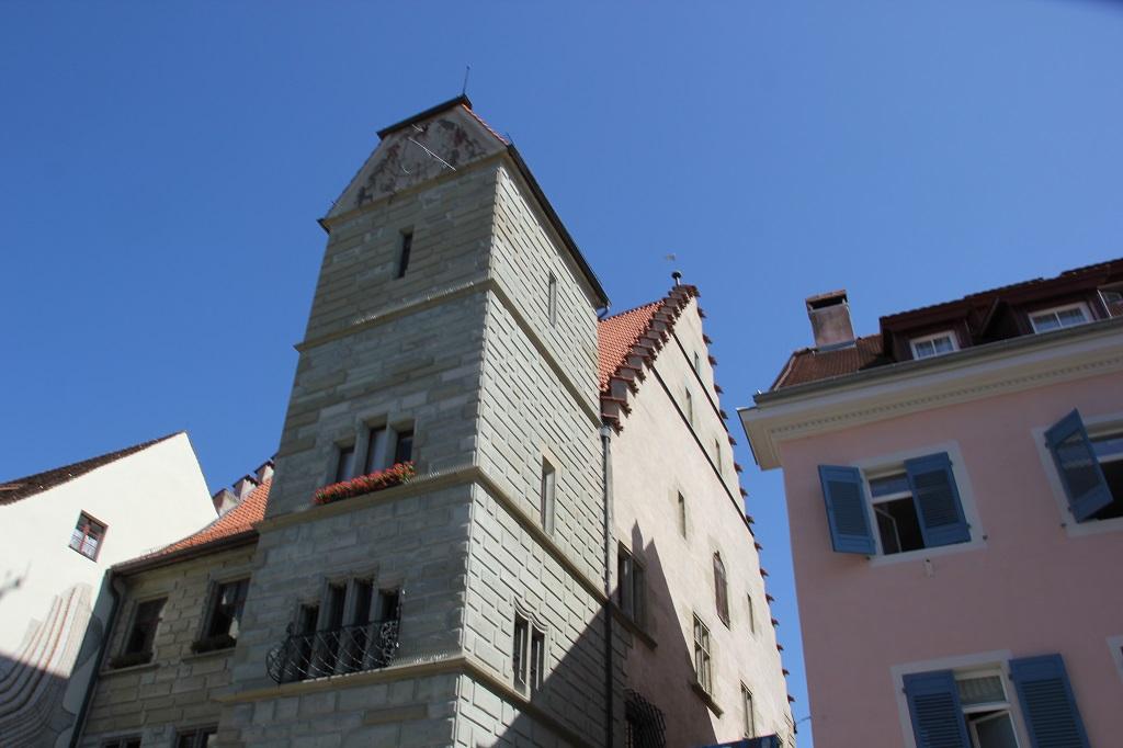 Kapuzinerkloster Ueberingen Turm und Haus