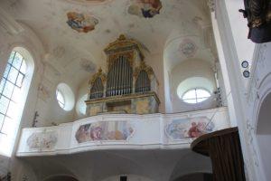 Orgel Kirche Insel Mainau