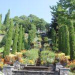 Wasserspiel Garten Schloss Insel Mainau