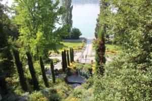 Wasserspiel Schloss Insel Mainau