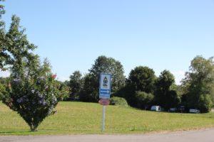 Campingplatz Schild Gohren
