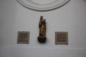 Heilige Verena Darstellung Rot an der Rot