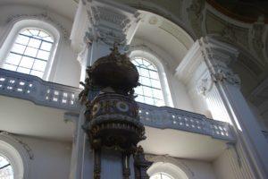 Kanzel Kirche Verena Rot an der Rot