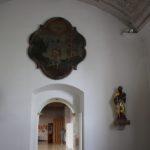 Rosenkranz-Kapelle Eingang St Johannes Ailingen