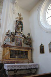 Seitenaltar Kirche St Verena Rot an der Rot