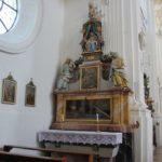 Seitenaltar St Verena Rot an der Rot