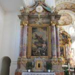 Seitenaltar St Verena Rot an der Rot Apsis