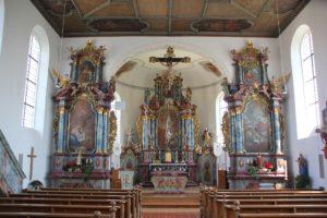 Altar Apris St Blasius Attenweiler