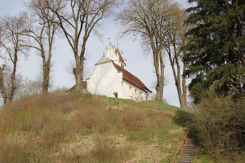 Burgstall Kapelle St Laurentius Degernau