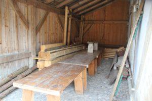 Holzverarbeitung Bachritterburg Kanzach