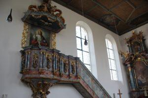 Kanzel St Blasius Attenweiler