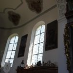 Rundfenster Apsis St Blasius Attenweiler