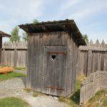 Toilette Bachritterburg Kanzach