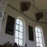 Verzierungen Apsis St Blasius Attenweiler