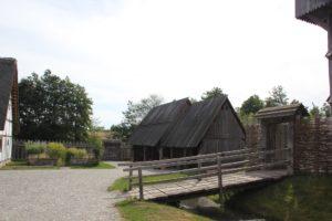 Wassergraben Bachritterburg Kanzach